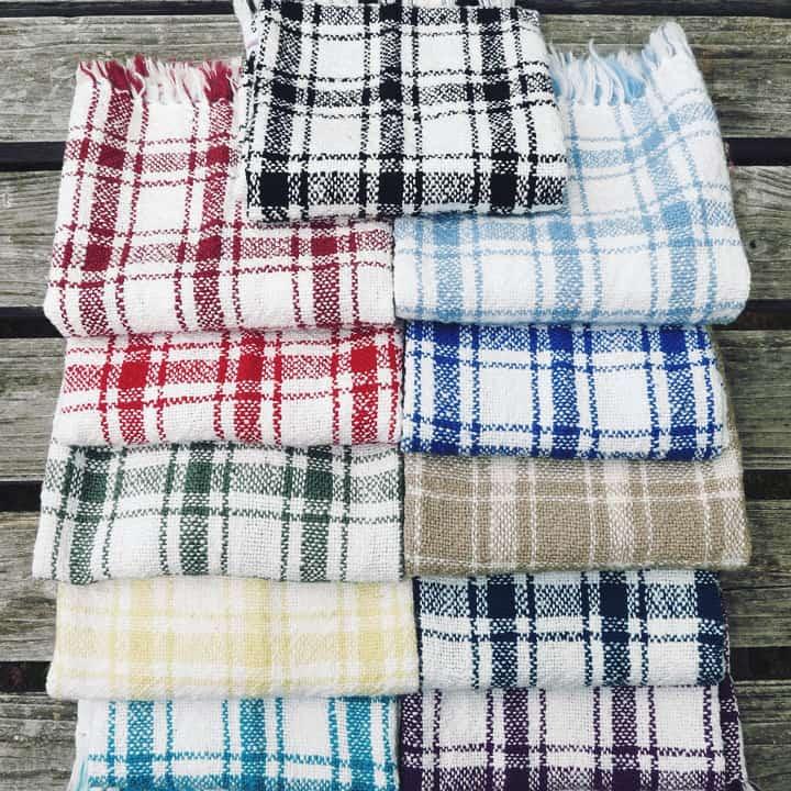 Plaid Kitchen Towel
