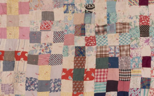 Square Patchwork Quilt