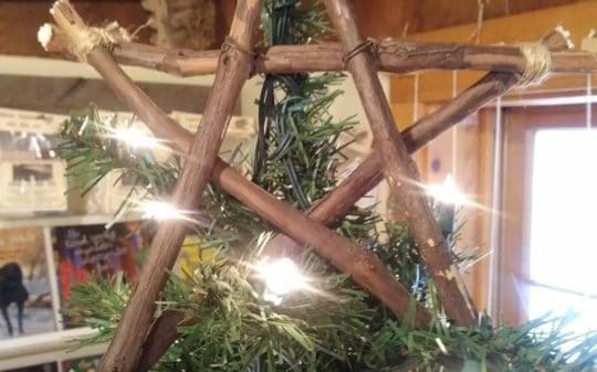 Toppin' the Tree: Rustic Christmas Star