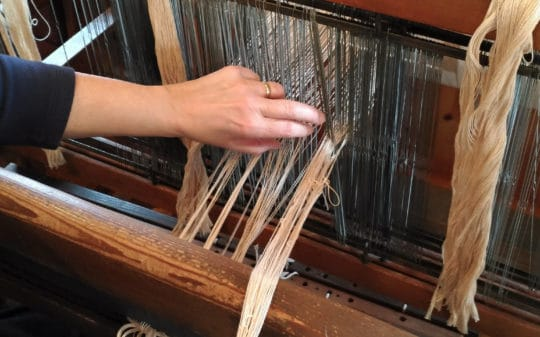 In the Loom Room