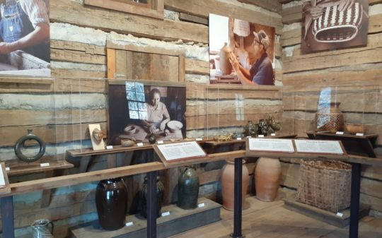 """Clay's Got a Memory"": New Exhibit on Pottery and Basketry in Northeast Georgia"